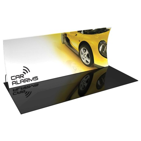 Trade show-display-formulate-20-vertical-curve-Full Color-Fabric