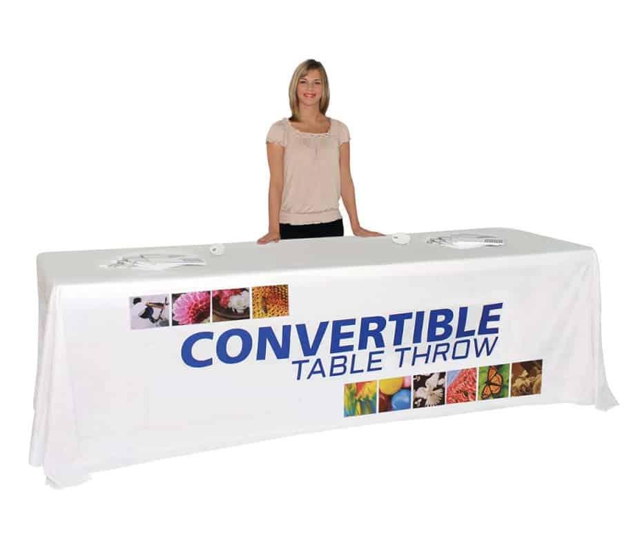 Convertible Dye Sub Table Throw