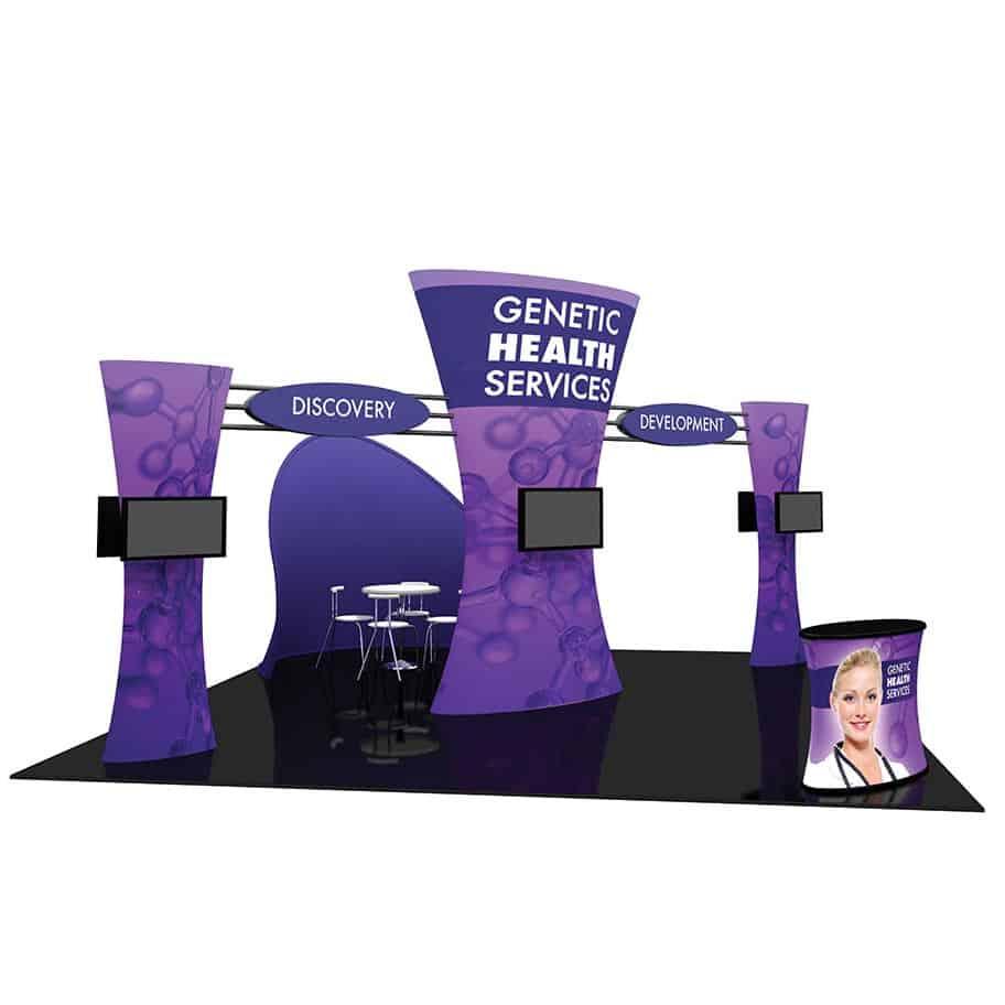 Portable Exhibition Kit Store Maharashtra : Fusion trade show display kit