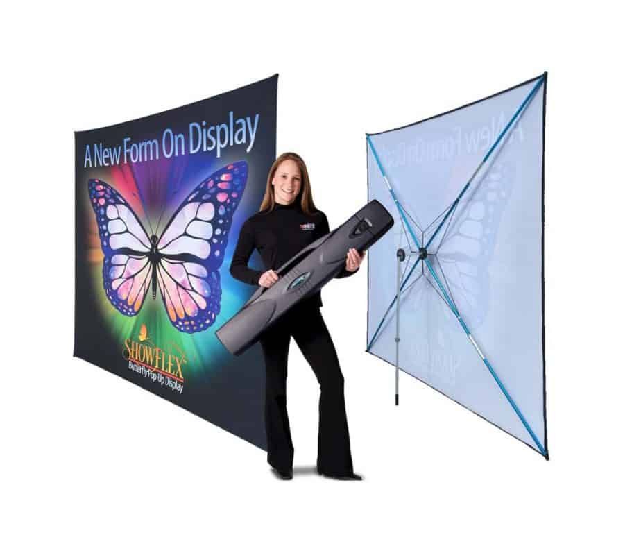 Showflex Ultra Pop Up Fabric Trade Show Display