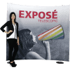 Pak n Go Portable Telescopic Fabric Graphic Display expose-telescopic-banner-display