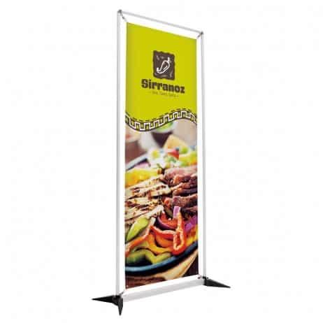 frameflex banner Display vinyl-graphic-trade show display portable
