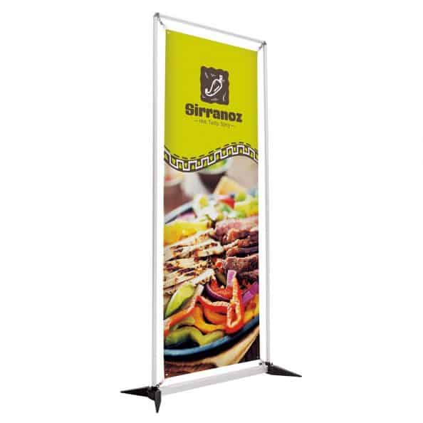 frameflex banner Display vinyl-graphic-trade show display portable