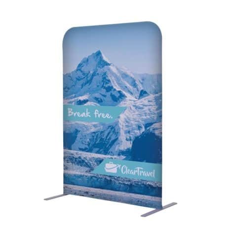 trade show displays, trade show, exhibits, portable displays, banners, displays, fabric graphics, lightbox, easy setup, tool free, apple displays, appledisplays, portable displays